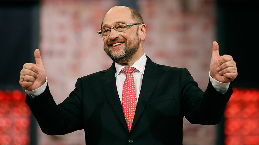 Канцлерская принадлежность: Шульц стал главным соперником Меркель на грядущих выборах