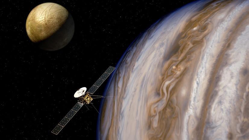 Полёт к внеземным океанам: ЕКА построит аппарат для поиска воды на спутниках Юпитера