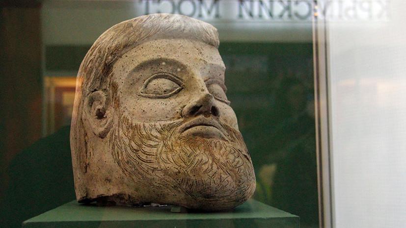 Найденная в Крыму голова древней статуи могла принадлежать Зевсу или Посейдону