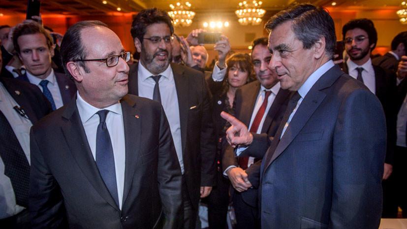 Заслушанный кандидат: Фийон обвинил Олланда в политическом шпионаже