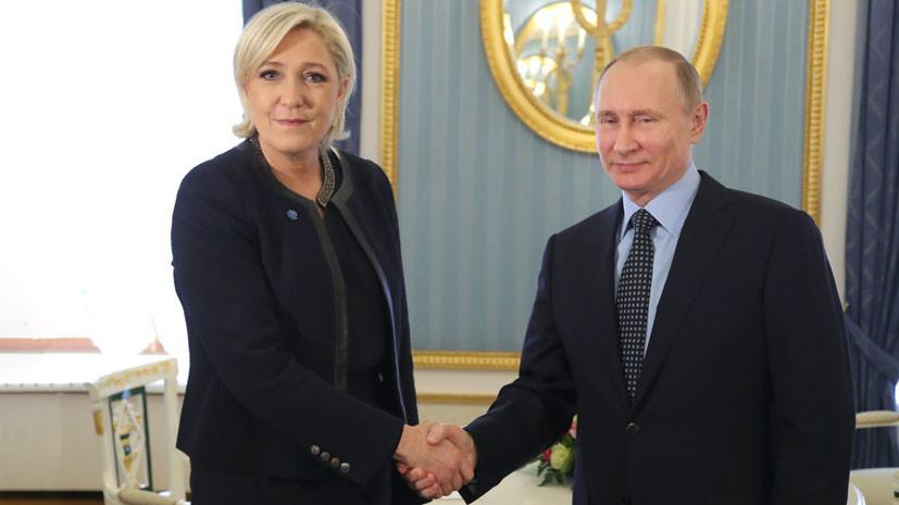 Ле Пен объяснила, зачем Вашингтон намерен вооружить Украину