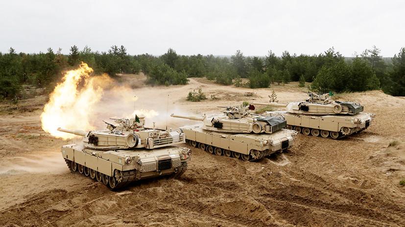 США признали своё отставание в танкостроении
