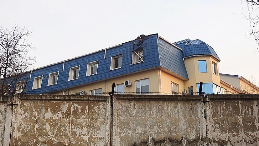 В украинском Луцке обстреляли консульство Польши