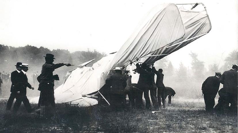 «Словно подстреленная птица»: каким было первое крушение самолёта