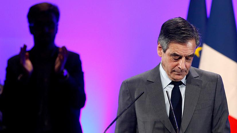 «Это политическое убийство»: Фийон не откажется от борьбы за пост президента Франции
