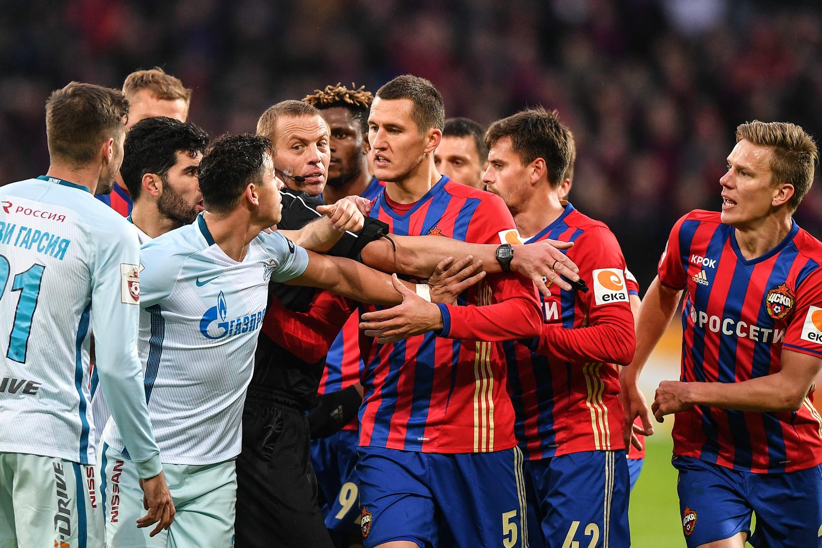 «Было больше ММА, чем футбола»: игроки и тренеры о матче ЦСКА — «Зенит»