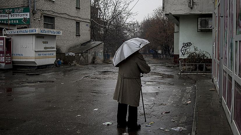 В ЛНР заявили о прекращении подачи воды из Киева