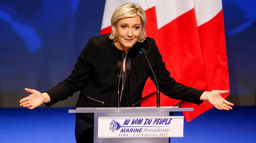 Французы собирают подписи в поддержку Марин Ле Пен