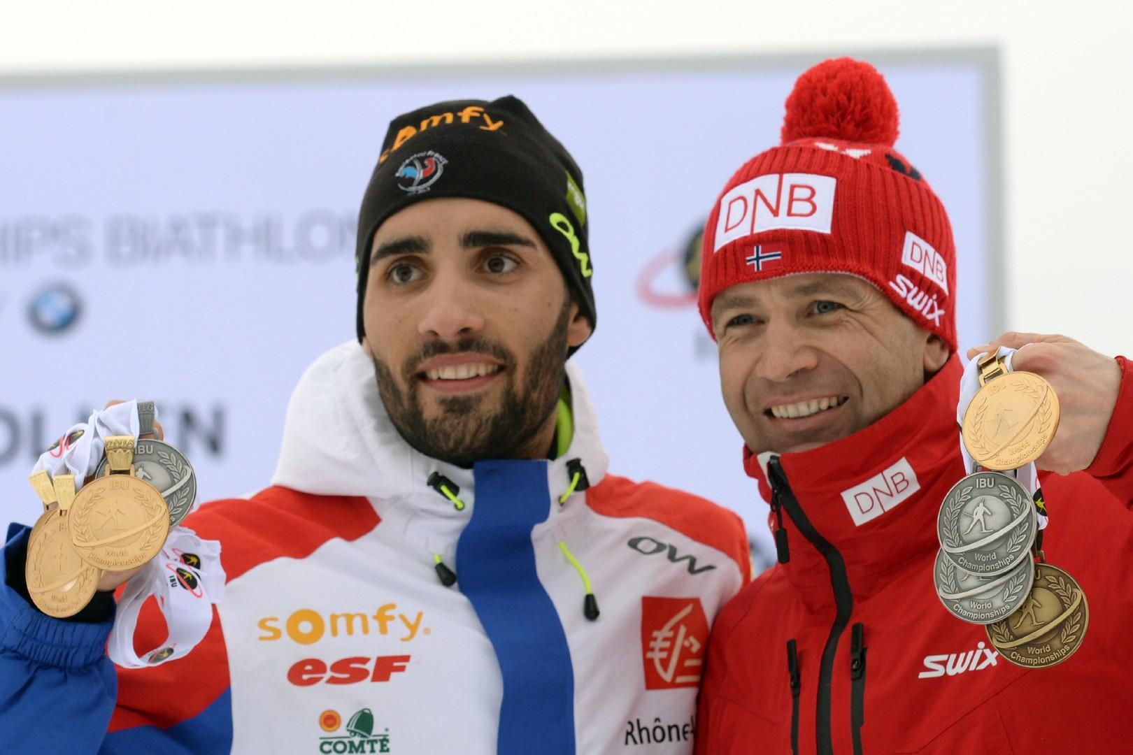 Фуркад потеснил Бьорндалена: француз побил один из самых главных рекордов в биатлоне