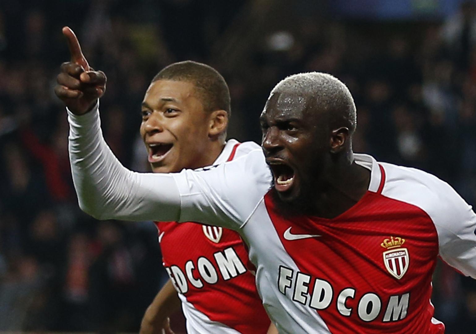 Княжеский приём: «Монако» отыграл два мяча у «Манчестер Сити» и вышел в 1/4 финала ЛЧ