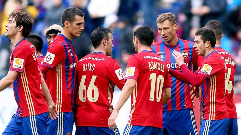 ЦСКА в гостях играет с «Тереком» в рамках 20-го тура РФПЛ