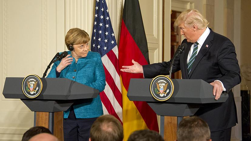 Долги НАТО отдавать: что стоит за разногласиями между Меркель и Трампом