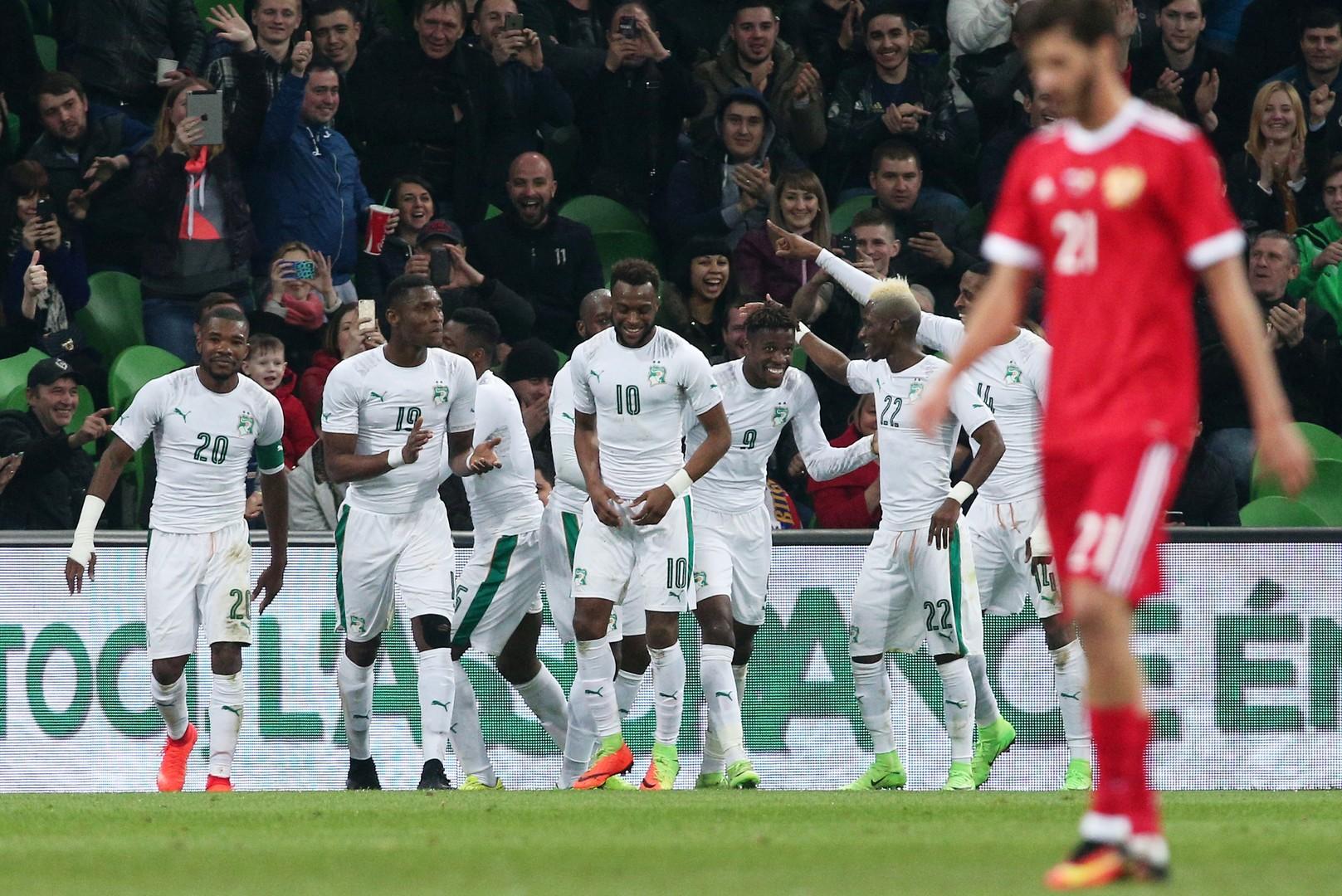 «Заслужили свист трибун»: игроки сборной России отреагировали на поражение от Кот-д'Ивуара
