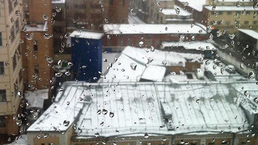 Зима снова близко: пользователи соцсетей обсуждают снежную погоду в Центральной России