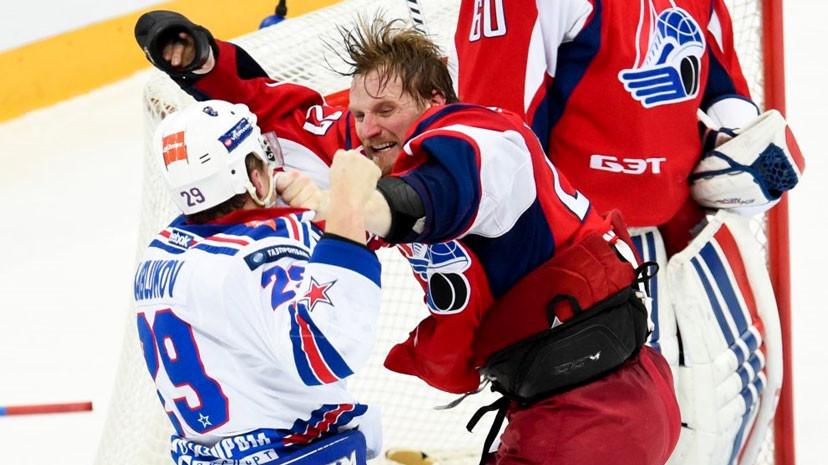 Зрелище не для слабонервных: 10 хоккейных драк, выходящих за рамки спорта