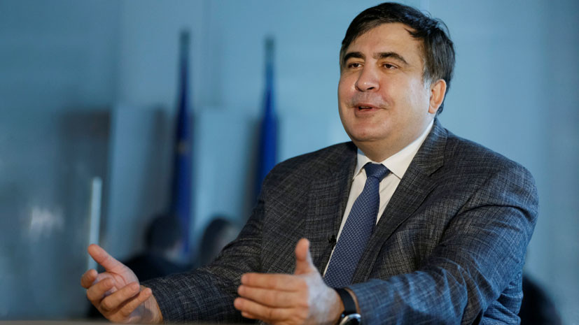 зачем Саакашвили стал телеведущим на канале Zik