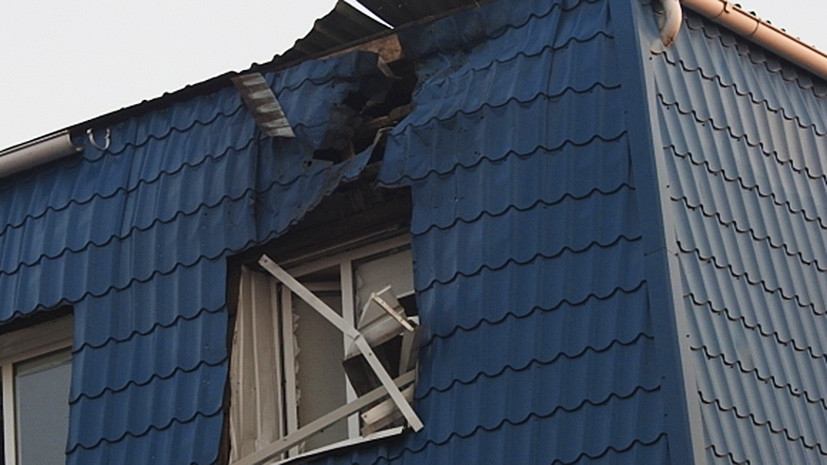 Опубликованы фотографии с места обстрела генконсульства Польши в Луцке