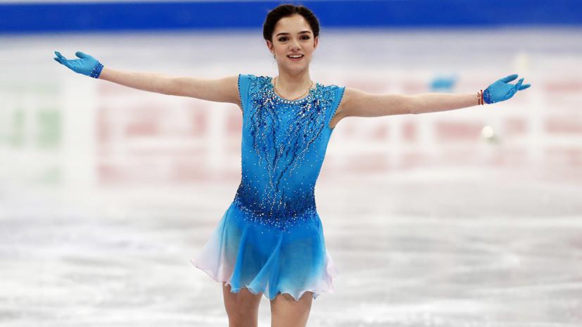 Медведева выиграла короткую программу на ЧМ по фигурному катанию