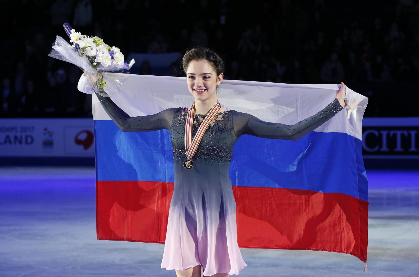 Лучше самой себя: Медведева защитила титул чемпиона мира по фигурному катанию