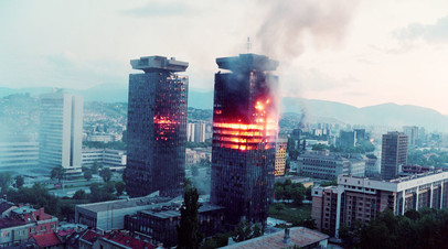 Сараево, 8 июня 1992 года