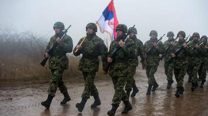 Cовместные учения подразделений специального назначения ВДВ России, Белоруссии и Сербии