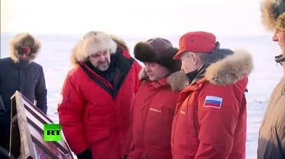 Владимир Путин и Дмитрий Медведев оценили результаты уборки Арктики от мусора