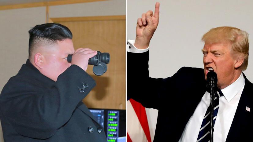 Трамп пообещал разобраться с Северной Кореей без Китая