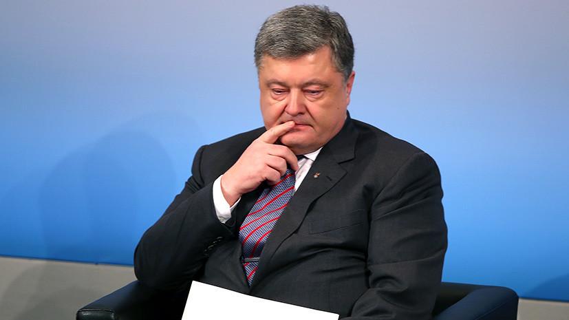 Расчёт на провокацию: Порошенко обвинил Москву в скандале вокруг Евровидения
