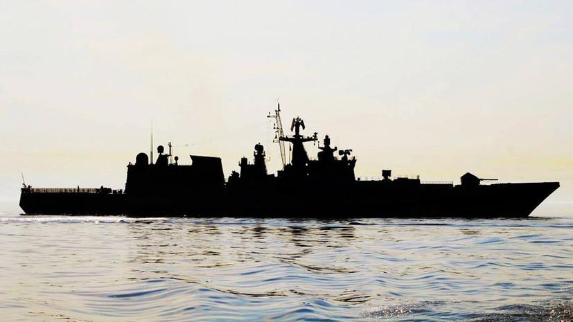 На страже берегов: фрегат «Адмирал Григорович» вышел в Средиземное море