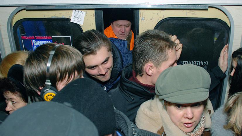 Пешком на Евровидение: почему может остановиться киевское метро