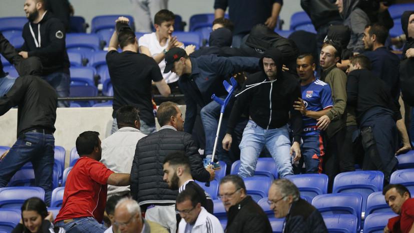 Война «Лиона» и мир «Манчестера»: итоги первых четвертьфинальных матчей Лиги Европы