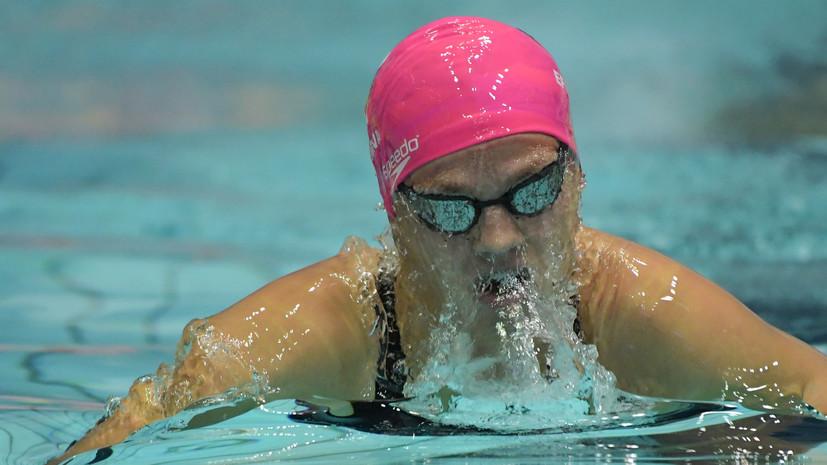 Три личных старта — три золота: Ефимова и Рылов стали лучшими на ЧР по плаванию