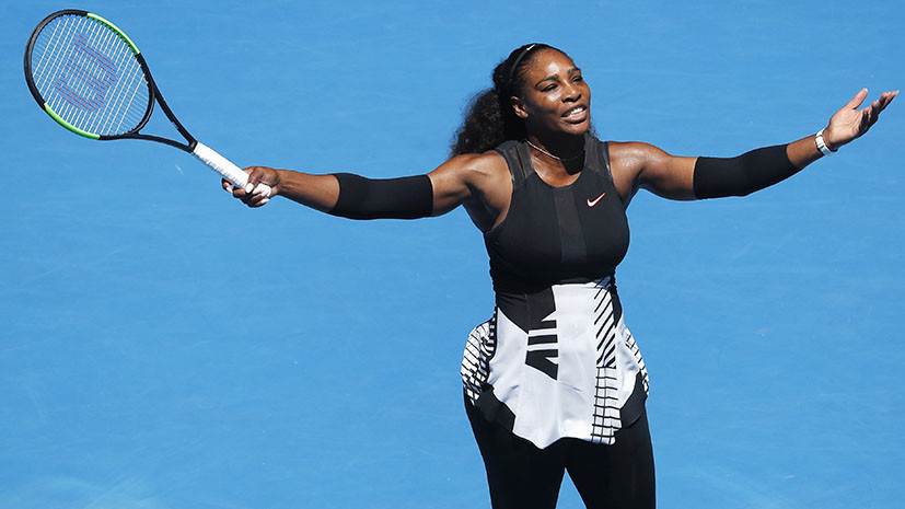 Шарапова — на корт, Уильямс — в декрет: американка выиграла Australian Open беременной