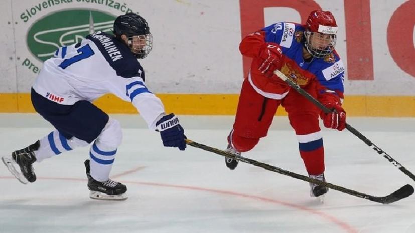 Поход за бронзой: российские хоккеисты сыграют в матче за третье место на юниорском ЧМ