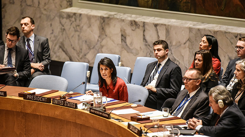 Хейли призвала давить на Россию для завершения войны в Сирии