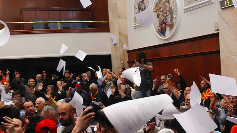 Вражда по сценарию: кому выгодна дестабилизация ситуации в Македонии