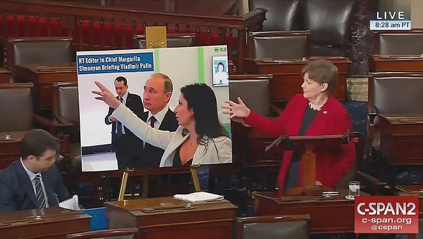 Маргарита Симоньян: даже я переживаю об RT и Sputnik меньше, чем американские сенаторы