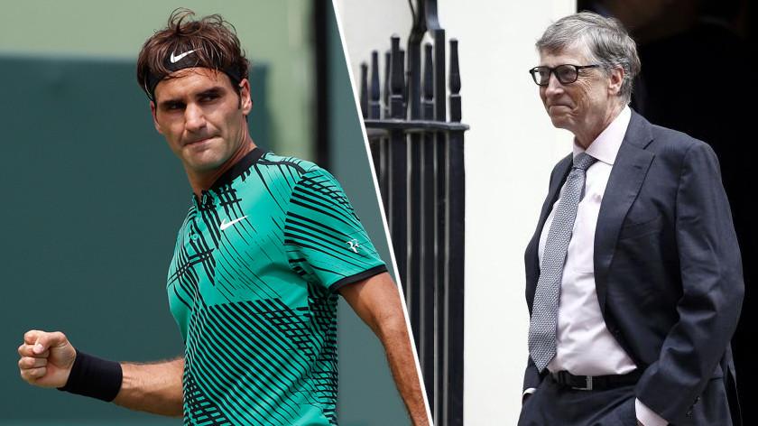 Теннисный дуэт с Гейтсом и марш против тренера «Арсенала»: необычные события недели спорта
