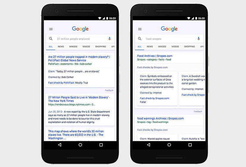 Google запустил мировую систему проверки подлинности новостей