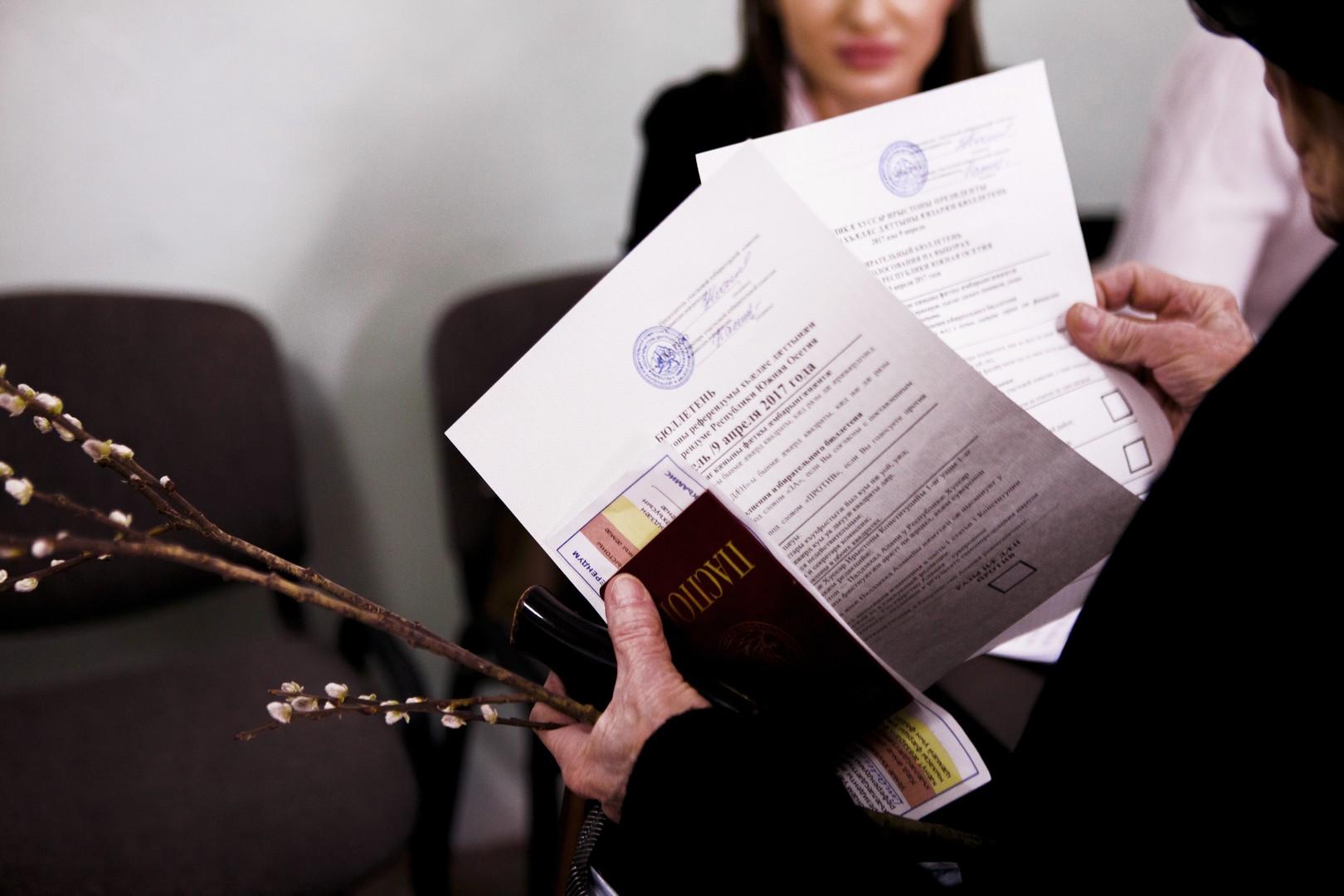ЦИК: за переименование Южной Осетии в Аланию проголосовали почти 80% избирателей