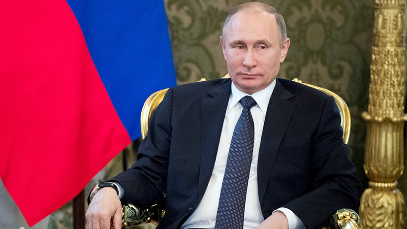Путин об обвинениях властей САР в химатаке в Идлибе: скучно, девочки