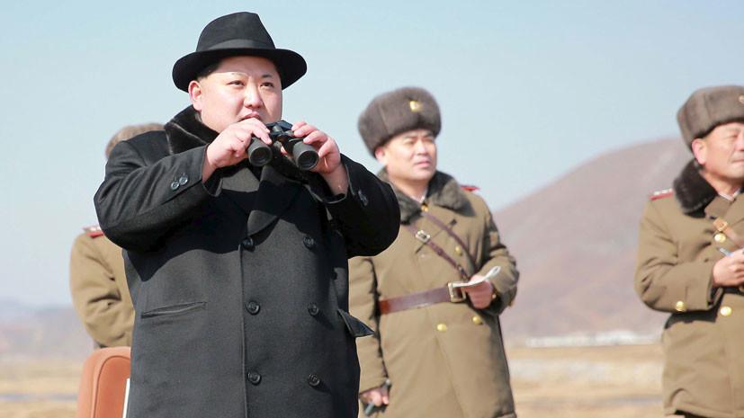 КНДР провела неудачный пуск ракеты