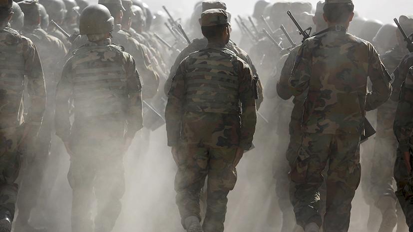 Афганистан обратился к России за поддержкой в обучении армии и полиции страны