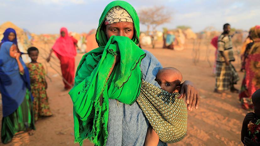 Сыты войной: число голодающих в мире за прошедший год возросло до 108 млн