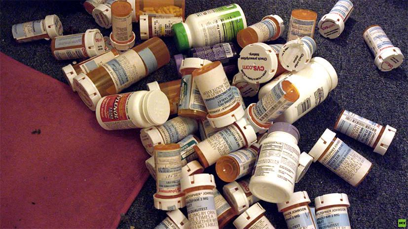 «На таблетках»: фильм RTД о том, как медицина в США делает людей зависимыми от лекарств