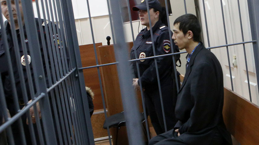 Подозреваемый в организации теракта в Петербурге: мне дали команду