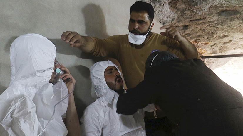 как западные СМИ освещают химатаку в Мосуле и инцидент в Идлибе