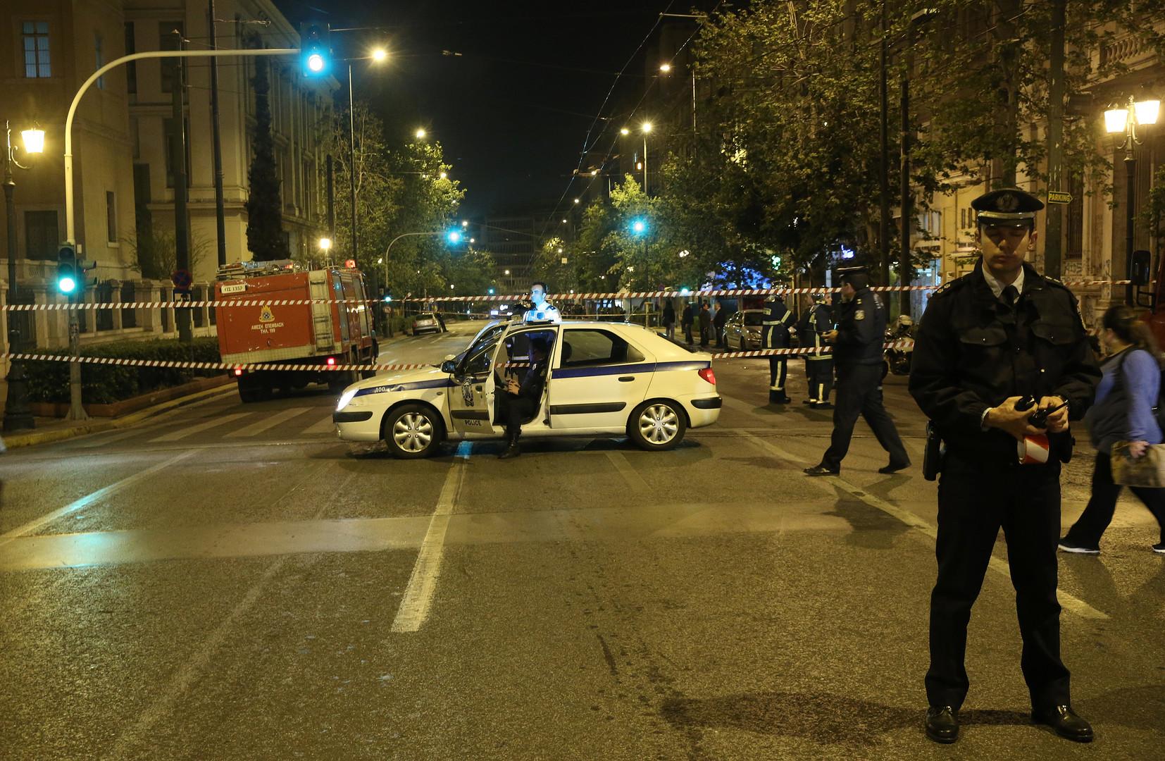 Анархисты устроили беспорядки в центре Афин