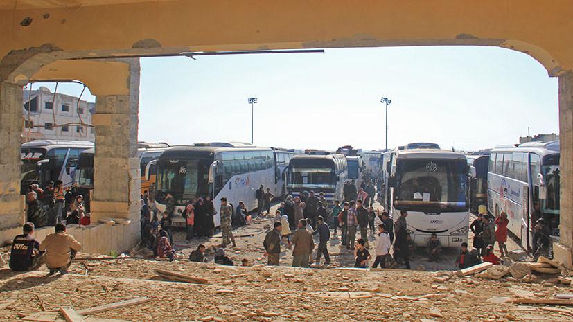 Очевидцы теракта у автобусов в Алеппо о трагедии