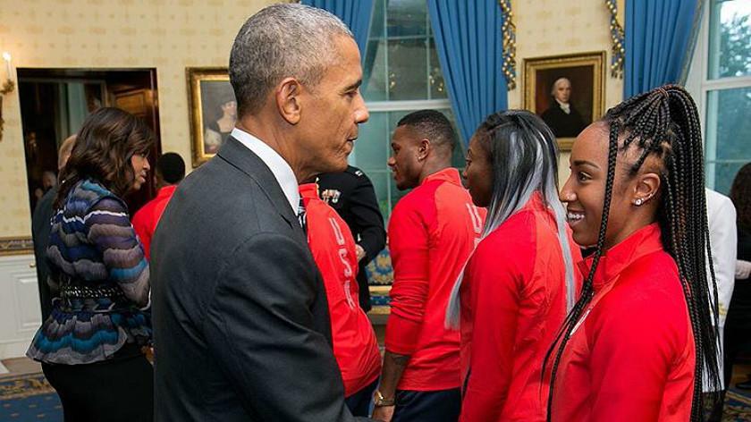 Дисквалификация из-за Обамы: олимпийская чемпионка из США предпочла Белый дом допинг-тесту